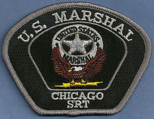UNITED STATES MARSHAL CHICAGO ILLINOIS SPECIAL RESPONSE TEAM POLICE PATCH