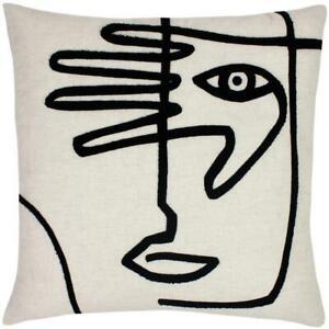 Furn Mono Linen Face Cushion Cover 50cm x 50cm