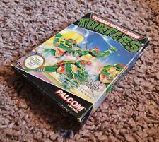 Nintendo Nes Game - Teenage Mutant Hero Turtles - Pal A uk
