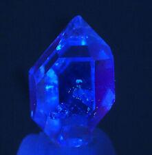 """5554_5  Herkimer """"Diamant""""  ca 1,7 cm  UV Einschlüsse Herkimer  Quarz USA"""