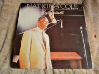 A1 ONE LP  RECORD 33 1/3 RPM NAT KING COLE UNFORGETTABLE