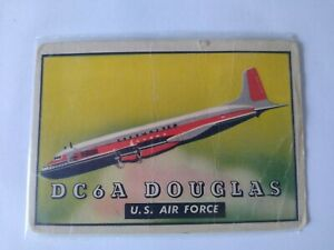 1952 Topps Wings Card #144 DC6A DOUGLAS US Air Force