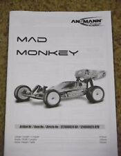 Nuevo Ansmann Mad Monkey Instrucciones / Build Manual