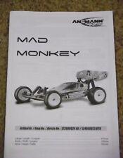 New Ansmann Mad Monkey Instructions / Build Manual