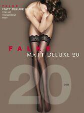 FALKE Matt Deluxe 20 den Damen Stay Ups halterlose Strümpfe