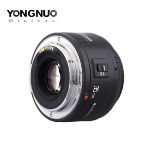 YONGNUO YN35mm F2.0 lens Wide angle Fixed/Prime Auto Focus Lens For Canon 600d