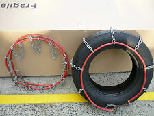 Snow Chains Stock Clearance Size 040  ONLY $20 PAIR - AS NEW CONDITION