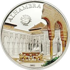 Palau 2011 5$ World of Wonders II Alhambra Silver Coin LIMIT 2500!!