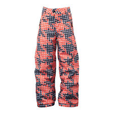 Youth Boys Girls Spyder Throw Ski Snowboard Insulated Pants Goji Neon Houndtooth