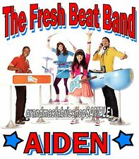 The Fresh Beat Band Personalized t shirt party favor birthday present gift new 2