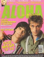 MAGAZINE ALOHA 2000 nr. 05 - DOE MAAR / PATTI SMITH / DEBBY HARRY / BILL WYMAN