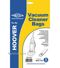 Electruepart BAG 155 pack of 5 Vacuum Cleaner Bags to fit Hoover Vacuum Cleaners