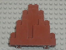 Rocher brun LEGO rock RedBrown 6083 / set 8780 8637 8877 8870...