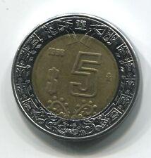 MONNAIE  5 DOLLARD 1998  MEXIQUE COIN