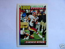 1991 TOPPS 1000 YARD CLUB EARNEST BYNER #6 - REDSKINS