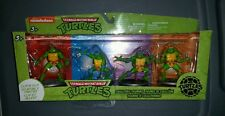Teenage Mutant Ninja Turtles Clip & Go Collectible Figurines 2014 Brand New RARE