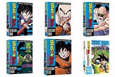 Dragon Ball Dragonball Season 1 2 3 4 5 COMPLETE Series Collection + Movie Pack