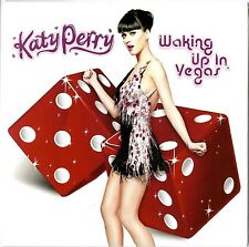 KATY PERRY - WAKING UP IN VEGAS 2009 UK CARDSLEEVE CD SINGLE FACTORY SEALED