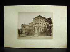 fotografia albuminé Palais Barberini Rome Roma Italie Italia c1880 photographie