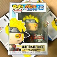 "Funko Pop Naruto Shippuden : Special Edition : Naruto (Sage Mode) #185 ""MINT"""