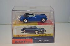 Dinky Toys Matchbox Diecast DY036/b - Jaguar XK150 - Blue perfect mint in box