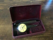 "Vintage Federal Testmaster M-1 .001"" Jeweled Dial Test Indicator with box"