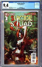 Suicide Squad #1 (New 52) CGC 9.4
