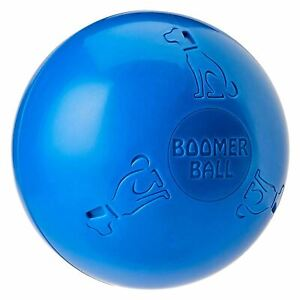 "Halti Boomer Ball 6"" Indestructible Tough Toy Chase Fetch Medium for Dogs Play"