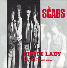 "THE SCABS, LITTLE LADY, 7"" SINGLE VINYL, EUROPE 1990 (AS NEW)"