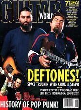 Guitar World Magazine September 2003- Deftones, History of Pop Punk, Limp Bizkit