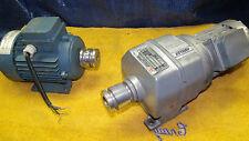 Abb Motors Mu71A14-4 Mk129016-S or M03207 1Bgcf1 gear motor 7:1 ratio 3 phase