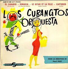 LOS CUBANCITOS ORQUESTA EL CANARIO FRENCH ORIG EP