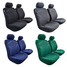 For Toyota Tacoma Trd Seat Covers 2006-2020 Suede Protectors Embossed Design