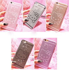 Glitter Design Hello Kitty soft Case For apple iphone 6  / iphone 6S