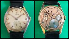 OMEGA-Vintage Mechanical Manual-cal.267-ref.2893.1-Plaque Or 80 Microns-rare
