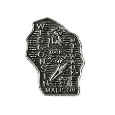 Wisconsin  00004000 State Lapel Pin