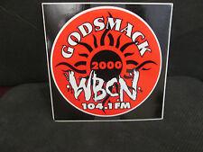 WBCN 104.1 FM RADIO -2000 GODSMACK LOGO STICKET