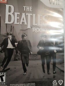 The Beatles Rock Band Nintendo Wii Game 2007 Complete .