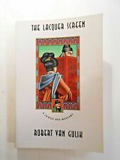 The Lacquer Screen by Robert H. Van Gulik (1992, Paperback) CHICAGO PRESS ED.