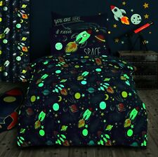 Space Rocket and stars Themed Duvet cover Cot bedding set