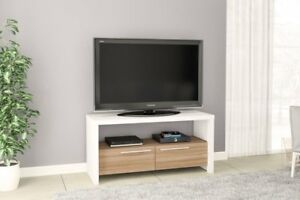 Boahaus Modern Style TV Stand up to 46'' 2 Closed Drawers
