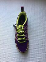 New Supra Womens Owen Purple Cheetah Sz 6