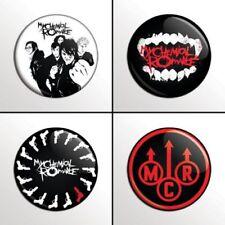 My Chemical Romance  - 4 chapas, pin, badge, button