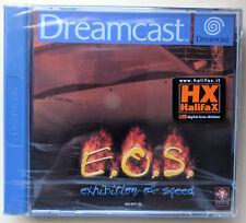 SEGA Dreamcast Game - E.o.s. Exhibition of Speed CIB Boxed Very Good