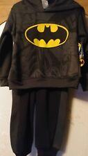 Boys Dc Comics Batman outfit pants and Hooded Jacket Nwt Sz. 4