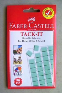 Faber Castell Tack-It Reusable Adhesive x 2 packs