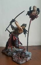 McFarlane's Faces of Madness Vlad the Impaler with Collectors Club Accessorys.