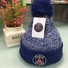 Paris Football Hat Cap Rugby Earcap Beanie Knit Winter Wool Adjustable 19*22 cm