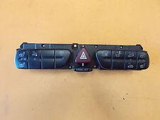 Mercedes W209 clk 240 03 dash hazard clignotant signal interrupteur de verrouillage de panneau 2038216758