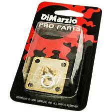 DiMarzio GG1400G Gibson-Style Metal Edgemount Guitar Jack Plate GOLD